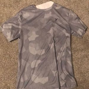 Old Navy Grey Camo Shirt